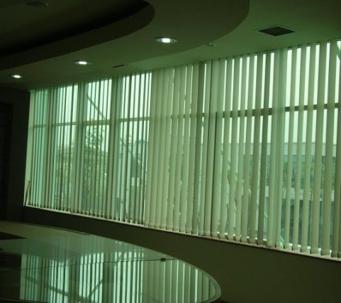 Vertical Blind Office